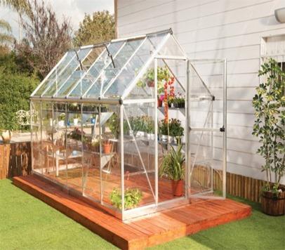 serre de jardin aluminium