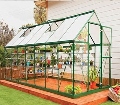 serre de jardin en aluminium